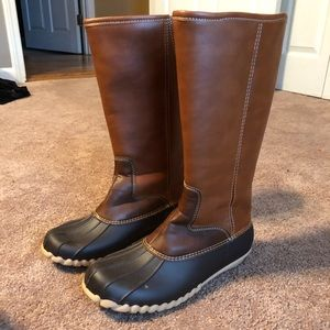 Outwoods Tall Duck Boots